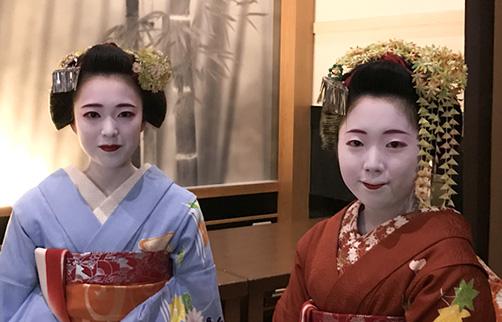京都 舞妓さん芸観賞付き 京ランチツアー【L-01】