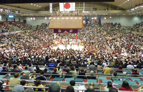 大相撲の観戦はやっぱり「桝席」